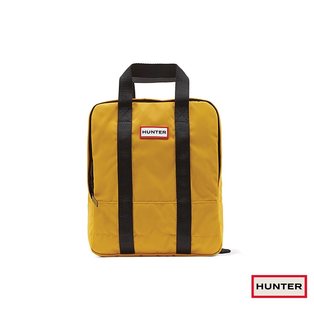 HUNTER - 大童-雙織帶後背包 - 黃