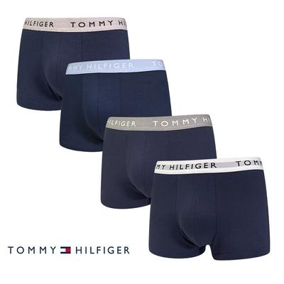 Tommy Hilfiger Coton Extensible系列 棉質高彈性 平口褲/四角褲-四件組