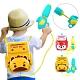 colorland 寶寶戲水玩具 兒童高壓噴水抽拉式背包水槍戶外玩具 product thumbnail 1