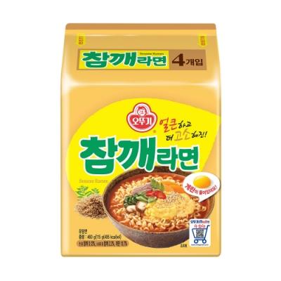 韓國不倒翁OTTOGI 芝麻拉麵(115gX4入)