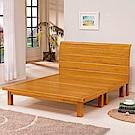 AS-貝里實木雙人加大6尺雙人床-182x198x97cm