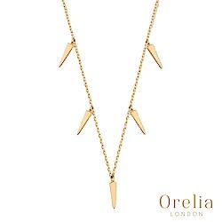 Orelia 英國倫敦 迷你匕首鍍金項鍊