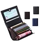 玩皮工坊-真皮頭層荔枝紋牛皮11卡位卡片證件夾卡夾卡套【CB52】