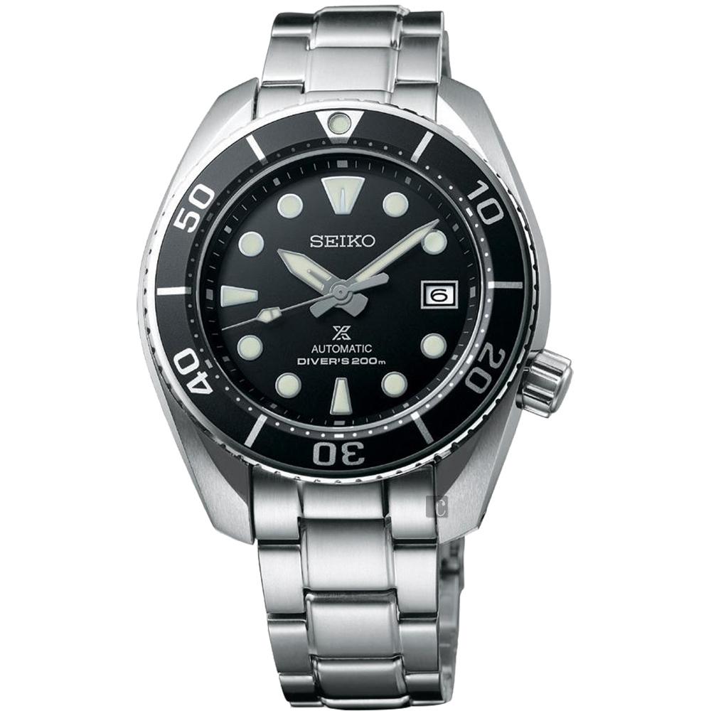 (無卡分期12期)SEIKO 精工 PROSPEX 200米潛水機械錶(SPB101J1)