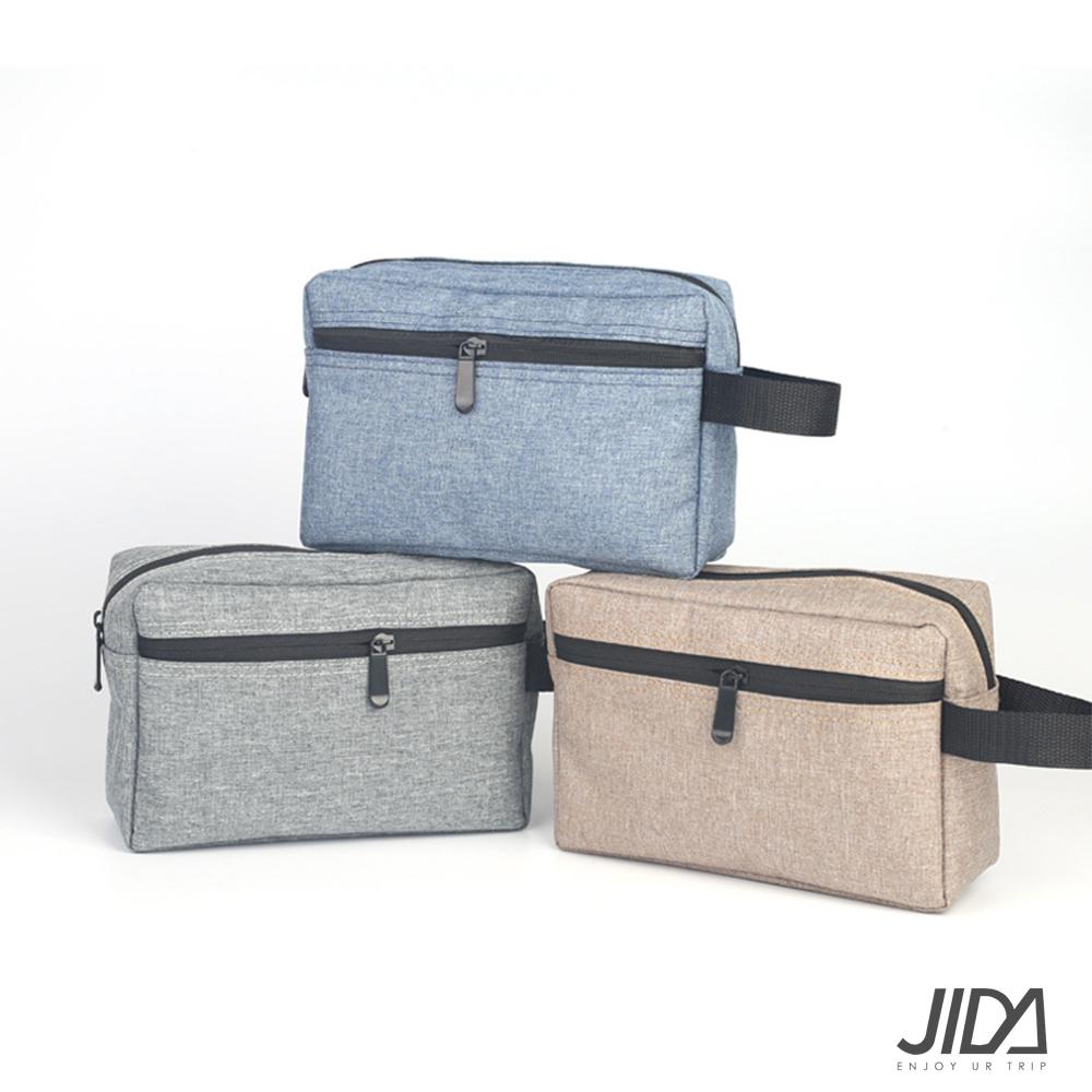 【暢貨出清】JIDA 280T防水牛津布手拿化妝包/收納包