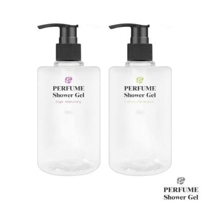 perfume shower gel 香氛沐浴露500ml(2入組)