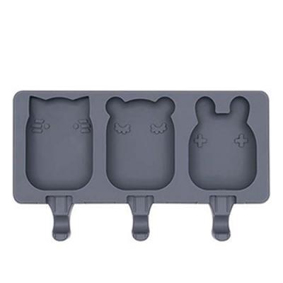 澳洲We Might Be Tiny 矽膠動物冰棒盒-木炭黑