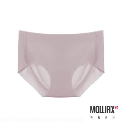 Mollifix 瑪莉菲絲 好動不卡卡運動無痕內褲 (煙灰紫)