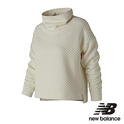New Balance 保暖針織長袖上衣 WT83127SST 女米白