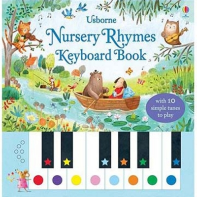 Nursery Rhymes Keyboard Book 童謠鋼琴遊戲書