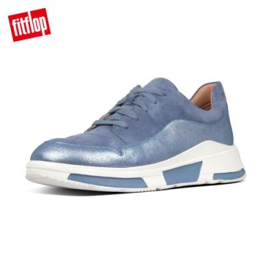 FitFlop FREYA SUEDE SNEAKERS 繫帶休閒鞋 藍色