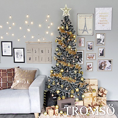 TROMSO 2018下雪聖誕樹-巴黎香榭金
