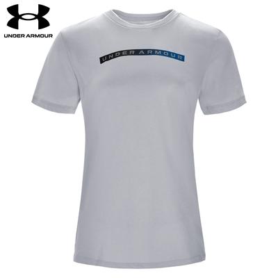 【UNDER ARMOUR】UA 女 Velocity 短T-Shirt_1366799-011
