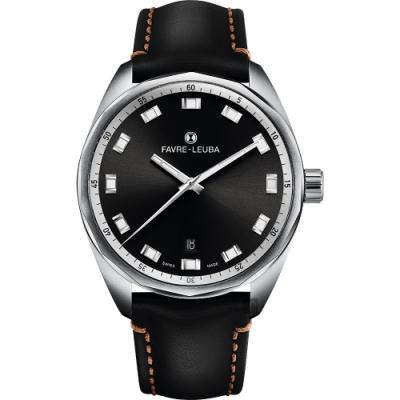 Favre-Leuba 域峰錶 SKY CHIEF DATE都會紳士機械手錶-40mm