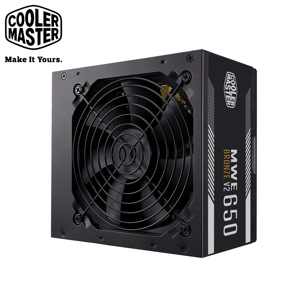 Cooler Master NEW MWE 650 BRONZE V2 80Plus 銅牌 650W 電源供應器