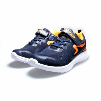 【ZEPRO】SPACEWALK太空漫步輕量運動鞋(大童)-深藍