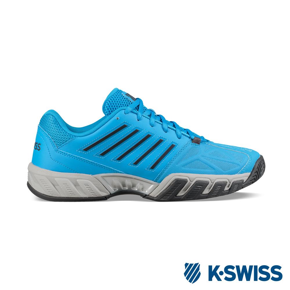 K-SWISS Bigshot Light 3輕量專業網球鞋-男-藍/灰