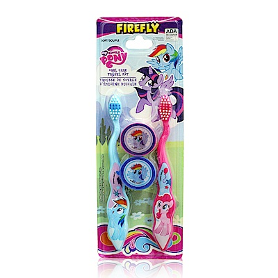 My Little Pony 2入兒童牙刷(附刷蓋)