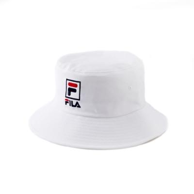 FILA 時尚筒帽-白 HTV-1203-WT