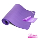 LOTUS NBR瑜珈健身墊15mm 加寬80cm加長185cm 買就送彈力帶+束帶+收納袋 product thumbnail 1