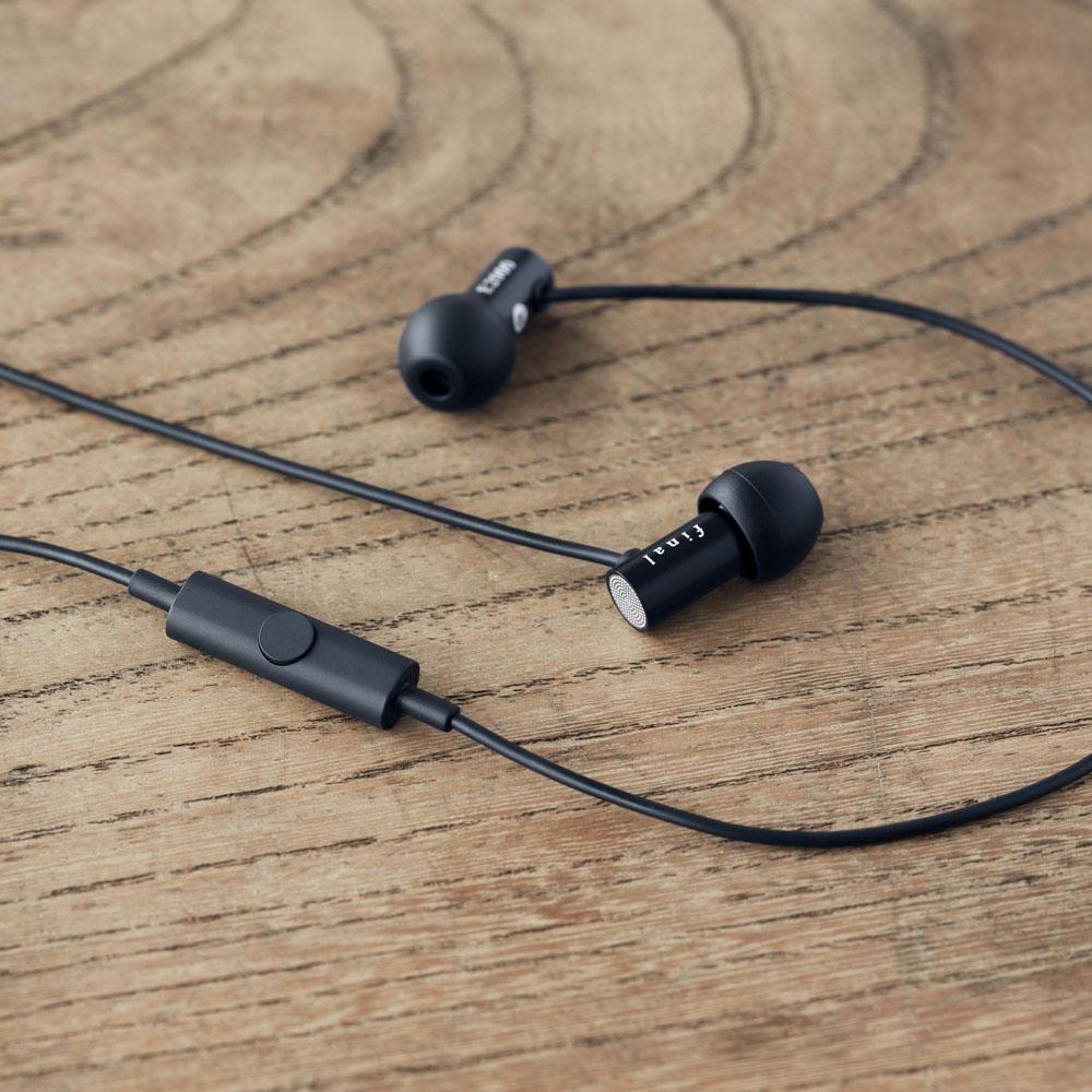 日本 Final E2000C/E2000CS 單鍵式耳麥線控耳道式耳機