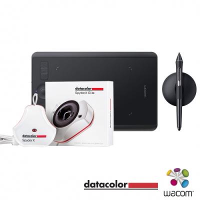 WACOM  Intuos Pro 專業繪圖板(小) + Datacolor 螢幕校色器 套組