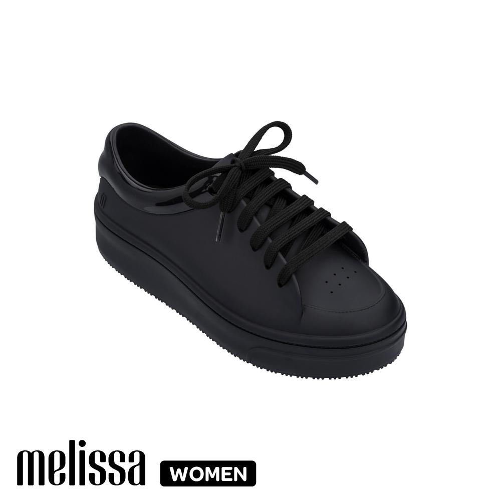 Melissa厚底撞色休閒鞋 黑