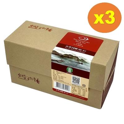 【魚池鄉農會】精選台茶18號(紅玉)-24包/盒x3盒組