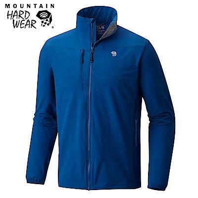 Mountain Hardwear 男款-防曬50防潑軟殼外套-深藍