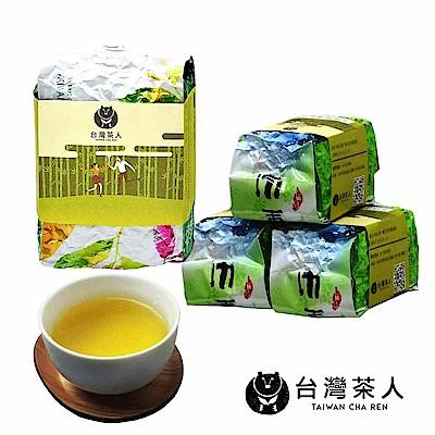台灣茶人 焙月烏龍 4件組 1斤/4兩裝