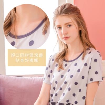 [時時樂限定] RoseMaid羅絲美 愜意生活點點條紋&晴天熱氣球短袖睡衣 一件$799選2件只要$1380