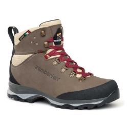 Zamberlan 331 防水高筒皮革登山鞋 女款 棕