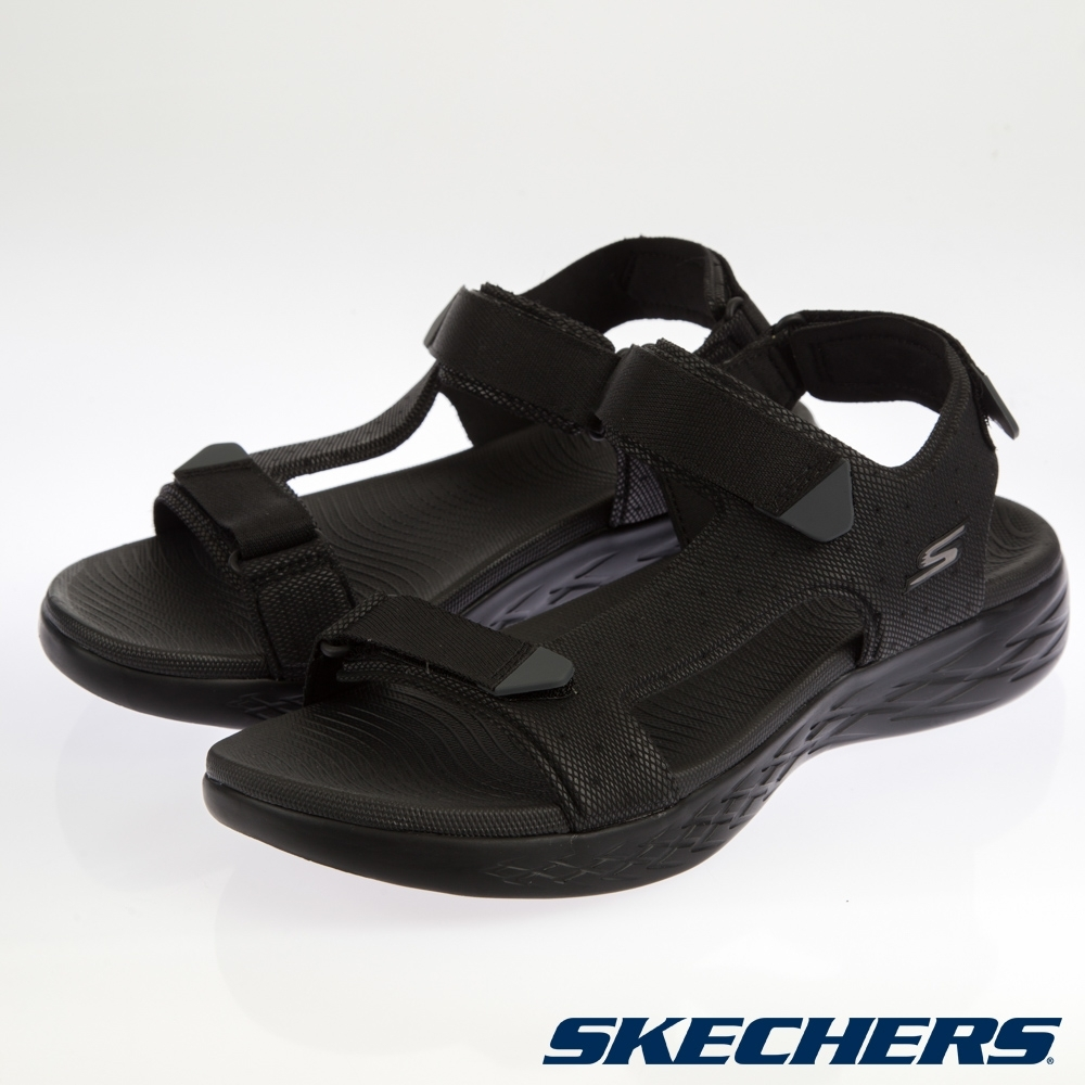 SKECHERS 男健走系列 涼拖鞋 ON THE GO-55383BBK product image 1