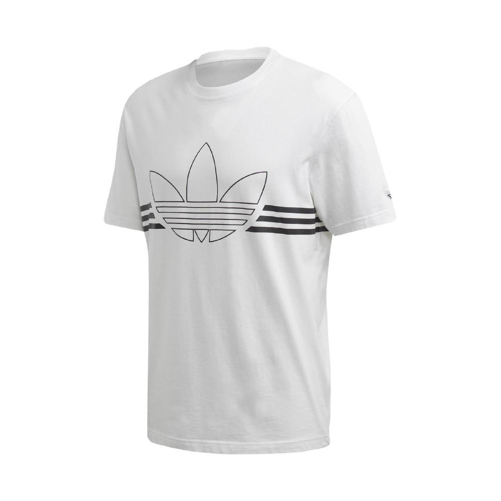 adidas T恤 Outline Tee 運動休閒 男款