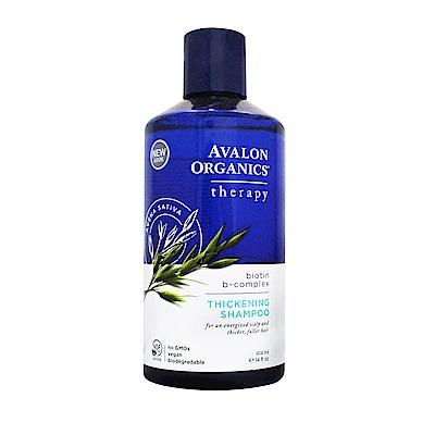 AVALON ORGANICS 湛藍B群健髮精油洗髮精(414ml/14oz)