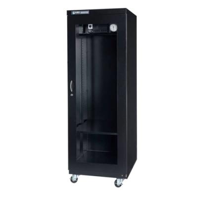 防潮家587公升時尚黑防潮衣櫃D-650C-生活防潮指針型
