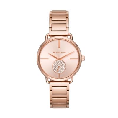 MICHAEL KORS美式優雅小秒針腕錶-36mm (MK3640)