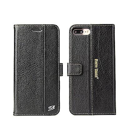 Fierre Shann 西槍系列 iPhone 7/8 Plus 錢包式 手工皮套