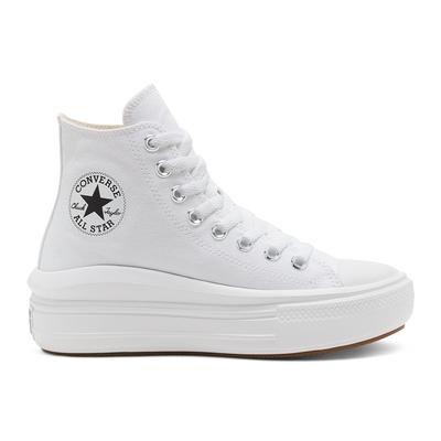 CONVERSE CTAS MOVE HI 高筒 厚底 百搭 輕量 女 休閒鞋 白色 568498C