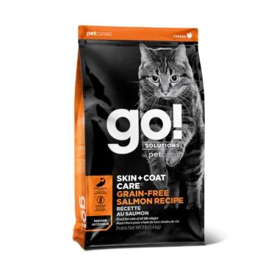 Go! 無穀鮭魚 8磅 全貓 皮毛保健