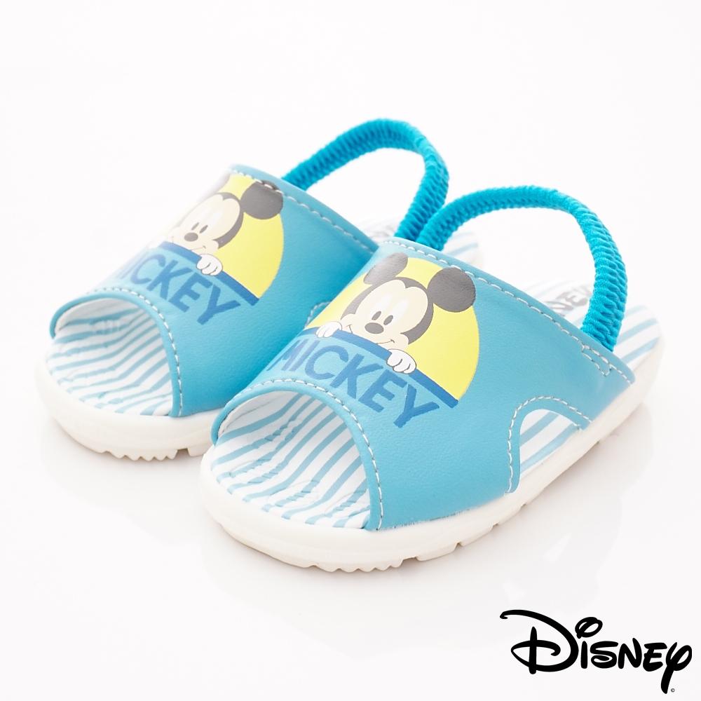 迪士尼童鞋 米奇柔軟涼鞋款 ON19342藍(小童段)
