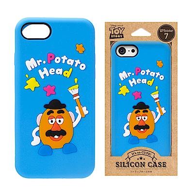 iPhone 8/7 迪士尼 正版授權 可愛/矽膠 手機軟殼 4.7吋-番薯頭先生