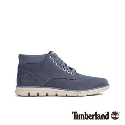 Timberland 男款藍色舒適經典休閒鞋|A21CW