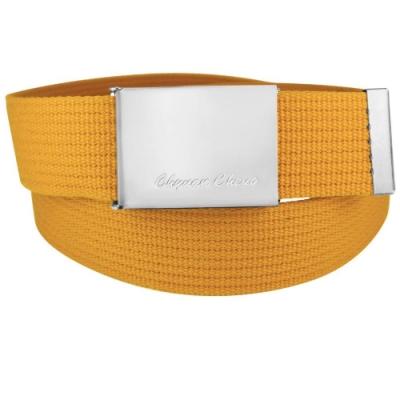 CH-BELT亮眼造型方頭織帶中性休閒皮帶腰帶