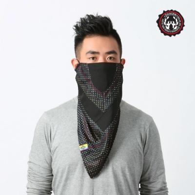 【DREGEN】TS系列-三角巾面罩-甜點彩虹
