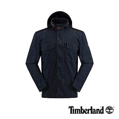 Timberland 男款深寶藍色透氣耐磨M65外套|A1A1G