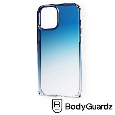 美國 BodyGuardz iPhone 12 / 12 Pro Harmony 和諧曲線軍規殼 - 藍色漸層