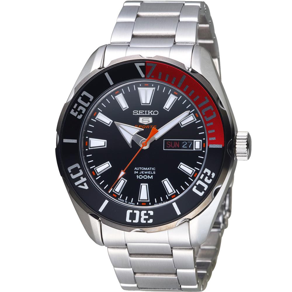 SEIKO 精工 5號 水鬼型機械錶(SRPC57J1)45mm