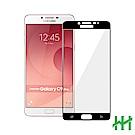 鋼化玻璃保護貼系列 Samsung Galaxy C9 Pro (6吋)(全滿版黑)