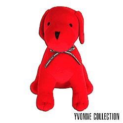 Yvonne Collection 旺旺狗玩偶抱枕-熱情紅